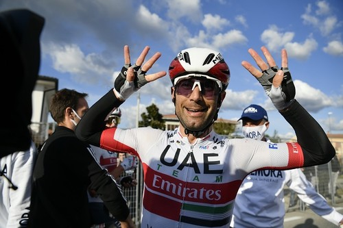 Джиро д'Италия. Вторая победа Улисси