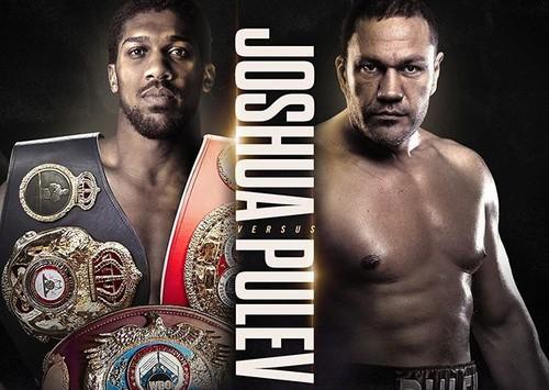 ОФИЦИАЛЬНО. Джошуа и Пулев будут боксировать 12 декабря в Лондоне
