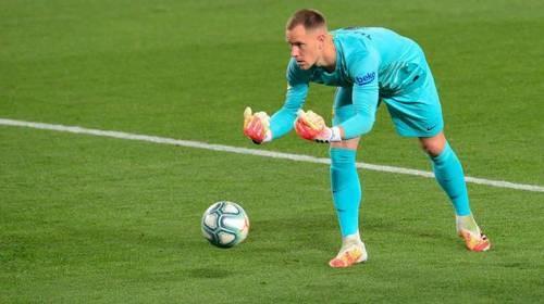Голкипер Барселоны тер Штеген может восстановиться к матчу с Динамо