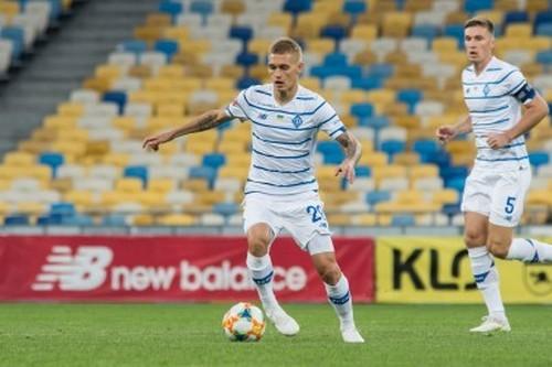 Полузащитник Динамо Буяльский провел 150-й матч в Украинской Премьер-лиге