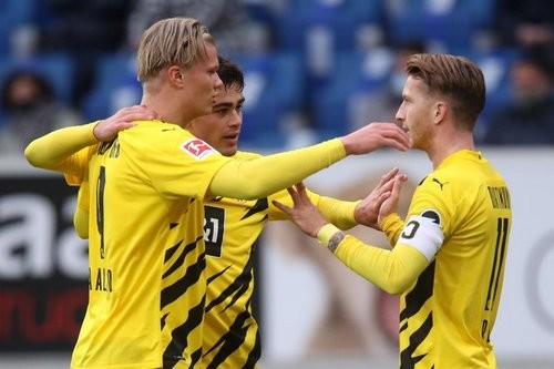 Хоффенхайм — Боруссия Дортмунд — 0:1. Видео гола и обзор матча
