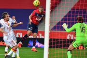 Лилль забил 4 гола в ворота Ланса и стал лидером Лиги 1, опередив ПСЖ