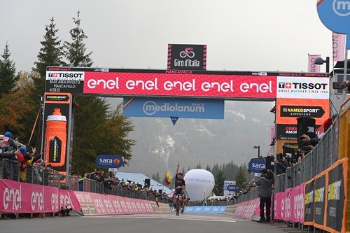 Джиро д'Италия. Келдерман нанес удар по соперникам
