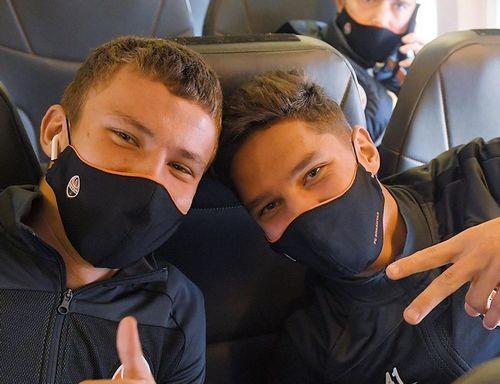 ФОТО. Шахтар відправився на битву з Реалом