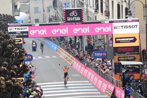 Джиро д'Италия. Тратник выиграл 16-й этап