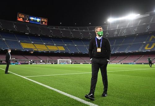 РЕБРОВ: «Барселона –это очень высокий уровень. Такие матчи приносят опыт»