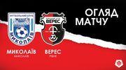 Миколаїв – Верес – 0:0. Огляд матчу