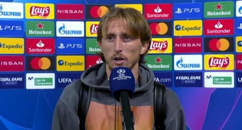 Лука МОДРИЧ: «Реал не отвечал уровню Лиги чемпионов. Мы опустили руки»