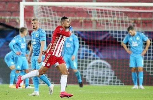 Олімпіакос — Марсель — 1:0. Відео голу і огляд матчу
