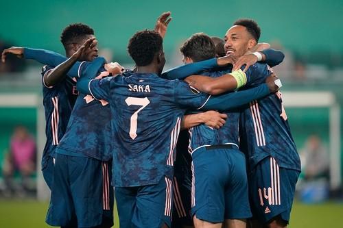 Лига Европы. Арсенал одержал волевую победу над Рапидом