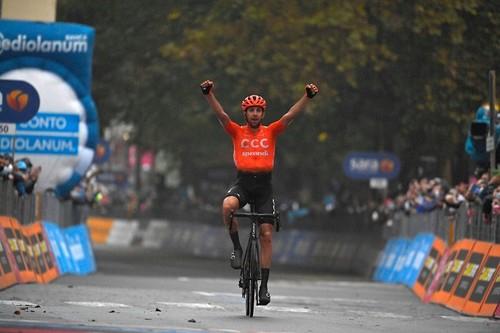 Джиро д'Италия. Черны выиграл 19-й этап