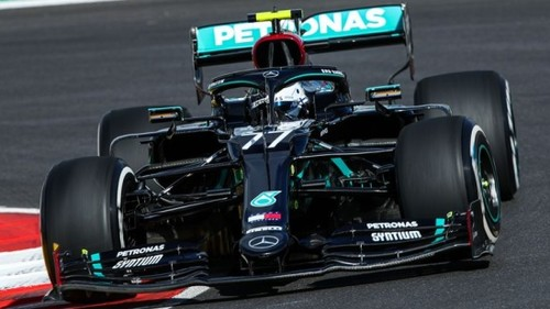 Пятница Гран-при Португалии. Возвращение Ф-1, Мерседес, новые шины и аварии
