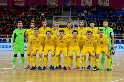 Сборная Украины по футзалу проведет два товарищеских матча с Венгрией