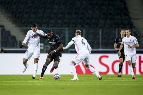 Боруссия Менхенгладбах – Реал Мадрид – 2:2. Текстовая трансляция матча