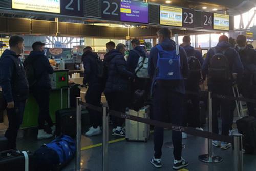 Динамо прибыло в Будапешт