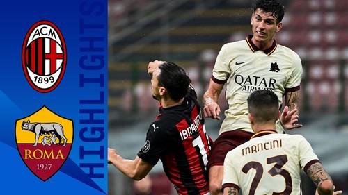 Милан – Рома – 3:3. Видео голов и обзор матча