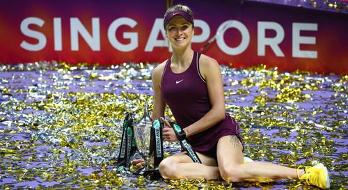 ВІДЕО. Два роки тому Світоліна виграла Підсумковий турнір WTA