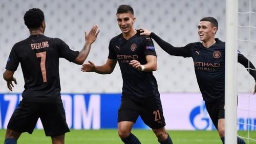 Марсель - Манчестер Сити - 0:3. Видео голов и обзор матча