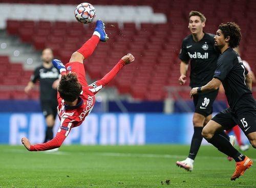 Атлетико — Зальцбург — 3:2. Видео голов и обзор матча