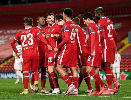 Ливерпуль — Мидтьюлланн — 2:0. Видео голов и обзор матча