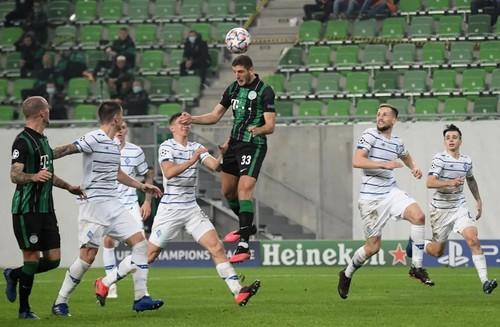 Ференцварош – Динамо – 2:2. Упустили победу. Видео голов и обзор матча