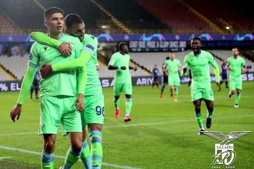 Брюгге — Лацио — 1:1. Видео голов и обзор матча