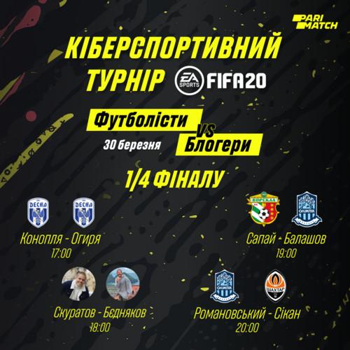 Турнір Parimatch з FIFA 20
