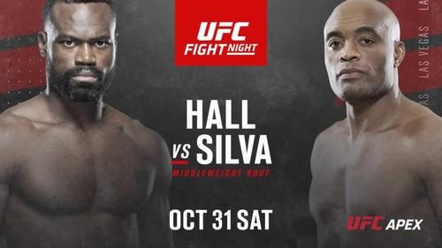 Где смотреть онлайн UFC: Юрайя Холл – Андерсон Силва