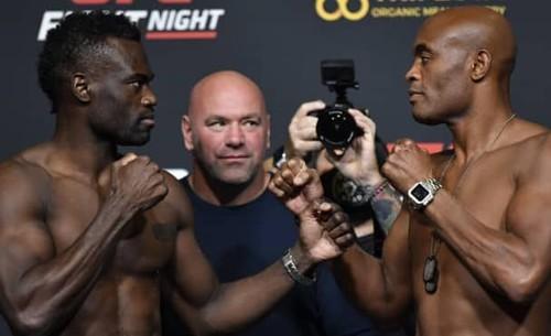 UFC: Юрайя Холл – Андерсон Сілва. Дивитися онлайн. LIVE трансляція
