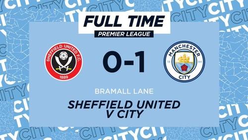 Шеффилд - Манчестер Сити - 0:1. Видео гола и обзор матча