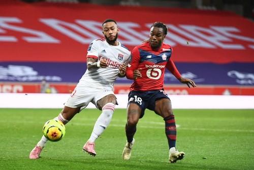 Лилль и Лион сыграли вничью в французской Лиге 1