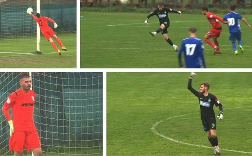 ВИДЕО. Уникальный гол в Румынии! Вратарь Стяуа забил ударом от своих ворот