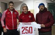 Сімінін провів 250-й матч за Волинь