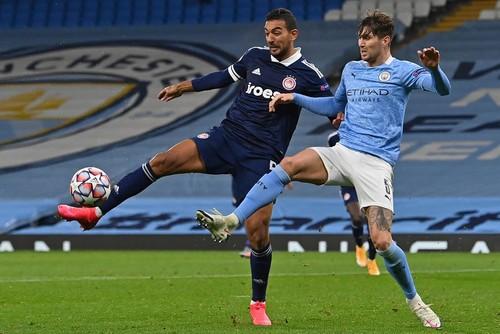 Манчестер Сити – Олимпиакос – 3:0. Зинченко побеждает. Видео голов и обзор