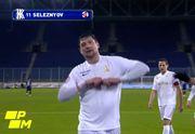 ВИДЕО. Свой гол в ворота Днепра-1 Селезнев посвятил старому Днепру