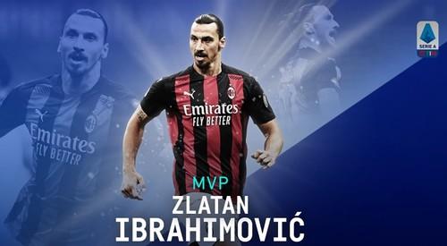Ибрагимович – Игрок месяца в Серии А