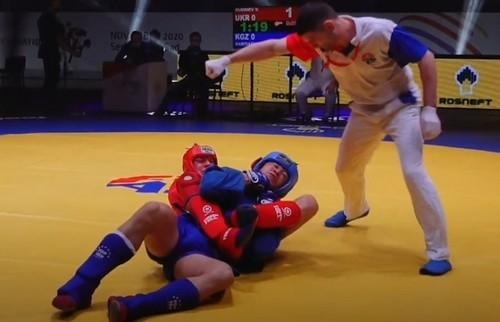 Украинцы завоевали шесть медалей на чемпионате мира по самбо
