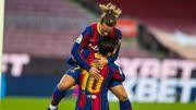 Ла Лига. Барселона разгромила Бетис, Месси оформил дубль