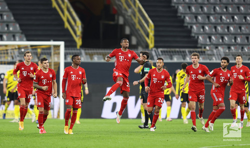 Бавария выиграла у Боруссии Д в ключевом матче тура в Бундеслиге
