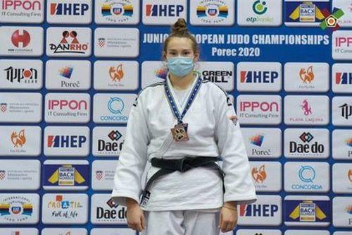 Украинские дзюдоисты завоевали четыре медали на юниорском чемпионате Европы