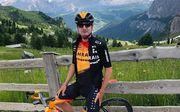 Украинский велогонщик Падун продлил контракт с командой Bahrain Mclaren