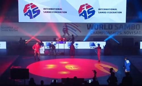 Сборная Украины завоевала шесть медалей в последний день ЧМ по самбо