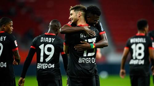 Байер – Боруссия Менхенгладбах – 4:3. Видео голов и обзор матча
