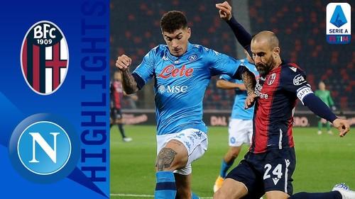 Болонья – Наполи – 0:1. Видео гола и обзор матча