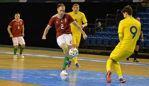 Футзал. Венгрия – Украина – 1:2. Видео голов и обзор первого матча