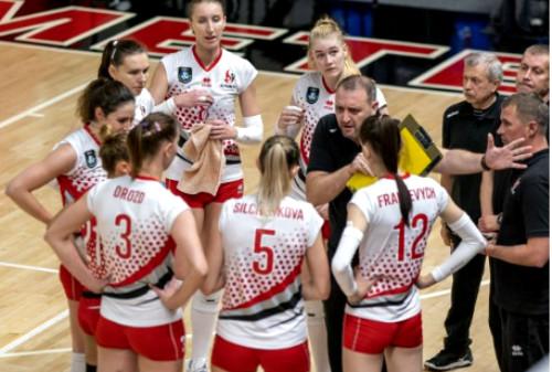 СК Прометей проиграл дома первый матч 1/16 финала Кубка ЕКВ