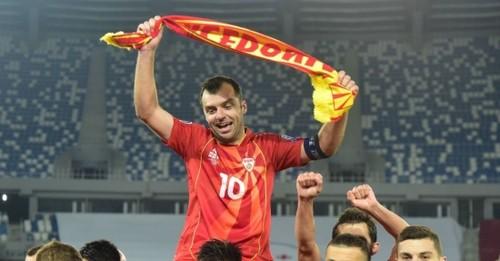 ФОТО. Впервые на большом турнире: Северная Македония вышла на Евро
