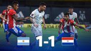Аргентина — Парагвай — 1:1. Видео голов и обзор матча