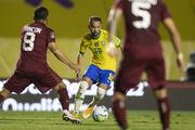 Единоличные лидеры. Бразилия с минимальным счетом обыграла Венесуэлу