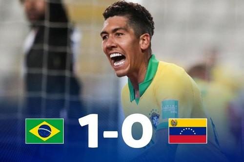 Бразилия – Венесуэла – 1:0. Видео гола и обзор матча
